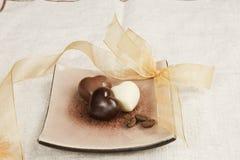 изменение шоколада роскошное романтичное Стоковые Изображения