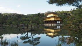 Изменение Япония цвета листьев Kinkakuji стоковое изображение rf