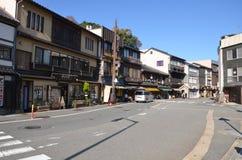 Изменение Япония цвета осени на Kinosaki onsen Стоковая Фотография RF