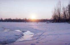 Изменения зимы Стоковые Изображения RF