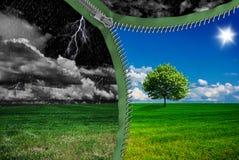 Изменения погоды Стоковое фото RF
