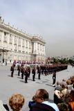 измените дворец королевскую Испанию madrid предохранителя стоковое изображение
