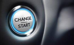 Измените концепцию процесса принятия решений Стоковые Изображения RF