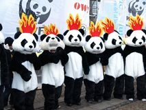 измените ООН демонстрации климата Стоковая Фотография