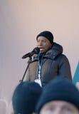 измените ООН демонстрации copenhagen климата Стоковое фото RF