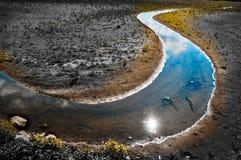 измените расточительствованную землю климата Стоковые Изображения RF