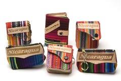 измените сувенир портмона Никарагуаа Стоковые Фотографии RF