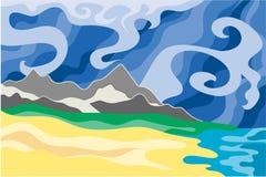 изменяет климатический вектор Стоковое Изображение