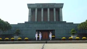 Изменять предохранителя на мавзолее Хо Ши Мин видеоматериал