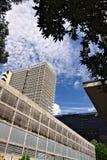 Изменять структуру офисного здания стоковое изображение rf