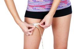 Измерение бедренной кости Стоковые Фотографии RF