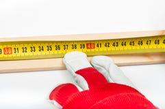 Измерение и amrk Стоковая Фотография