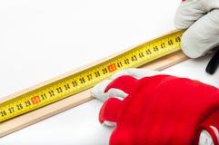 Измерение и amrk Стоковое фото RF