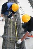 Измерение 2 работников о учреждении Стоковые Изображения RF
