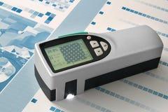 Измерение спектрометра на CTP стоковая фотография rf