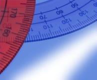 измерение угла стоковая фотография