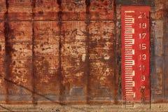 Измерение уровня воды Стоковая Фотография RF