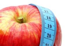 измерение яблока Стоковое Изображение RF