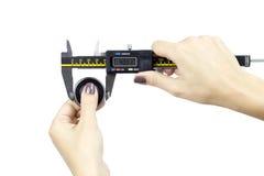 Измерение aliper ¡ Ð Стоковое Фото