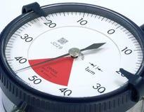 измерительный прибор с круговой шкалой Стоковые Фото