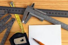 Измерительное оборудование Стоковые Изображения RF