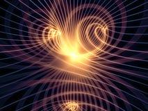 Измерительные линии синергия Стоковая Фотография RF