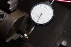 Измерительный прибор с круговой шкалой Стоковое Изображение RF