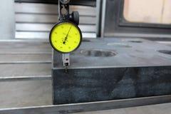 Измерительный прибор с круговой шкалой Стоковое Фото