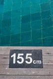 Более глубокий плавательный бассеин Стоковая Фотография RF