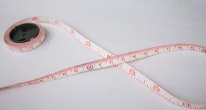 измерьте ленту Стоковое Изображение