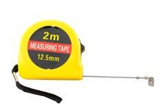 измерьте желтый цвет ленты Стоковое Фото