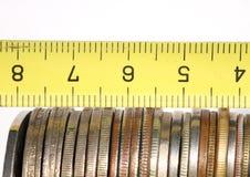 измерьте наше богатство стоковое изображение