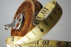 измерьте сбор винограда ленты Стоковая Фотография RF