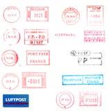 измеряет избитые фразы почтоваи оплата Стоковые Изображения