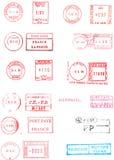 измеряет почтоваю оплата Стоковое Изображение RF