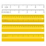 Измерять желтого цвета цвета Стоковые Фотографии RF