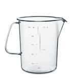 измерять изолированный чашкой Стоковая Фотография RF