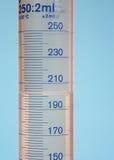 измерять цилиндра Стоковое Фото