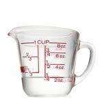 измерять чашки Стоковое Изображение RF