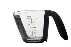 измерять чашки Стоковые Фото