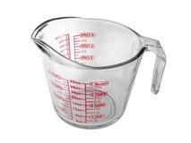 измерять чашки Стоковая Фотография RF