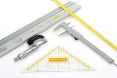 измерять 2 аппаратур Стоковое фото RF