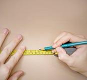 измерять Стоковые Изображения