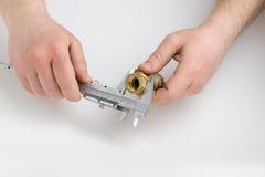 Измеряя аппаратура Стоковая Фотография RF