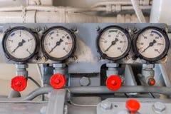 Измеряя аппаратуры на корабле Стоковое Изображение RF