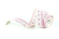 измеряя белизна ленты Стоковое Фото