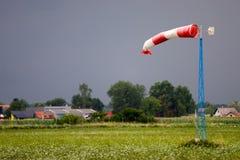 измеряя ветер Стоковая Фотография