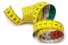измеряя взгляд сверху инструмента Стоковое Изображение