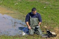 измеряя вода качества Стоковая Фотография RF