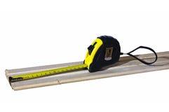 измеряя лента изолировано Стоковые Фото